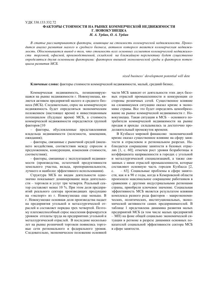 Коммерческая деятельность на рынке коммерческой недвижимости обзор рынка коммерческой недвижимости г стерлитамака