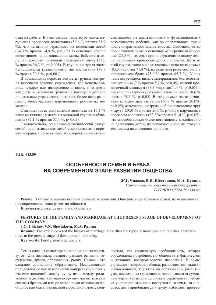 Семья и брачные отношения в современном обществе автотюнинг ваз украина