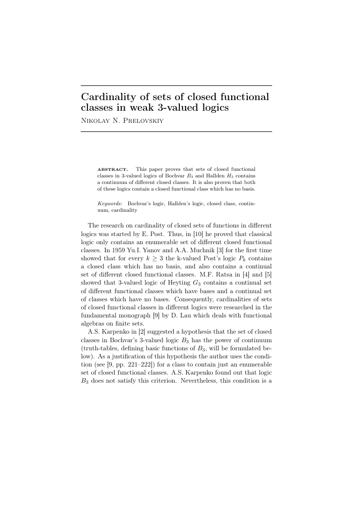 Equational Classes Generated by Single Functionally Precomplete Algebras
