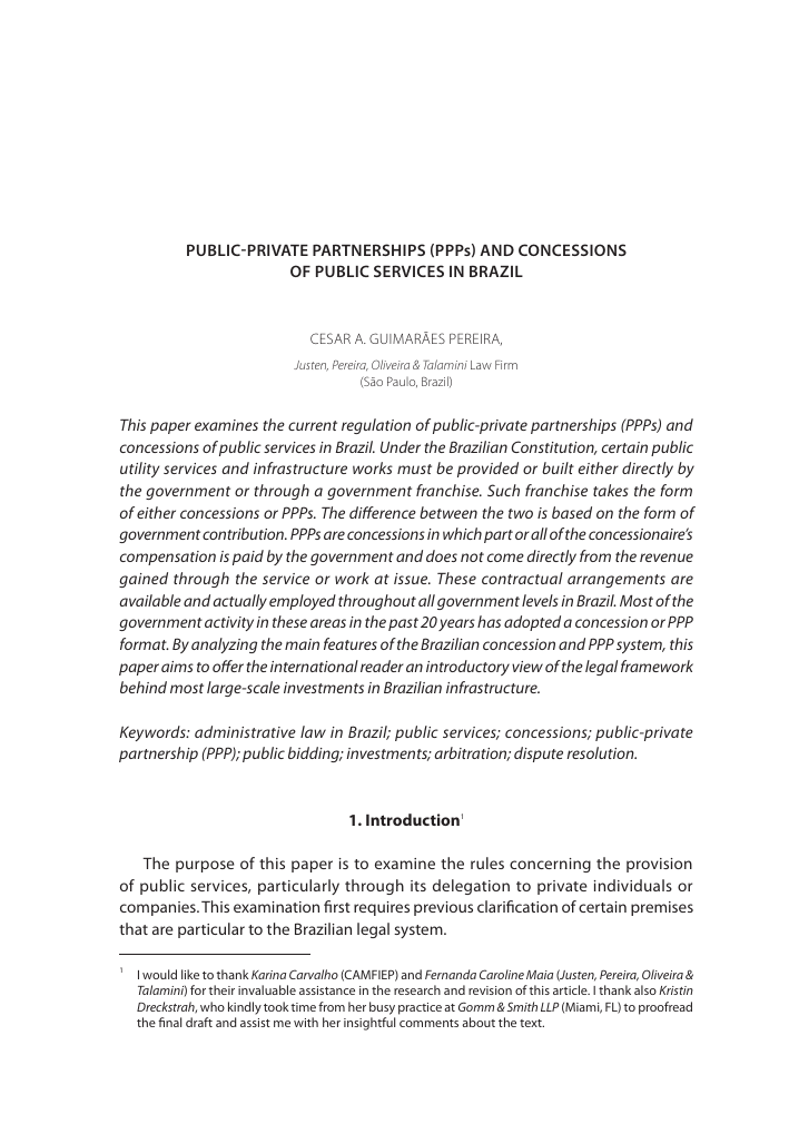 partnership agreement between companies