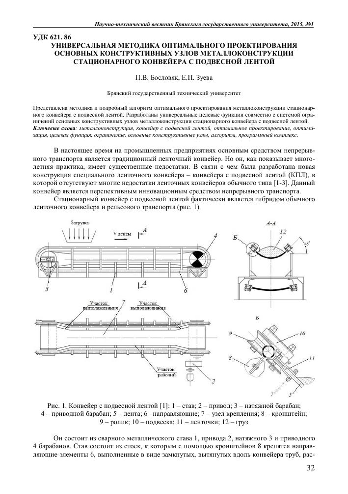 металлоконструкция конвейера