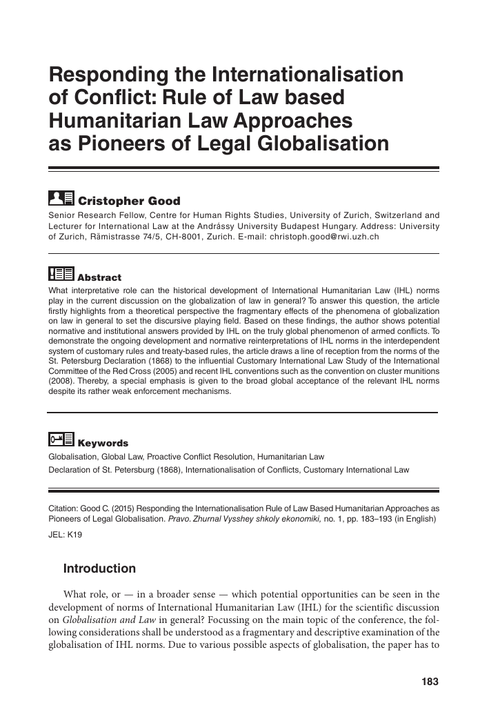 international law paper topics