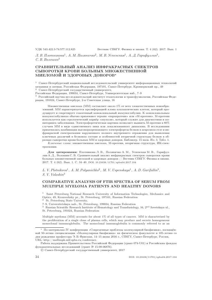 Анализы крови м.университет медицинская справка о состоянии зд