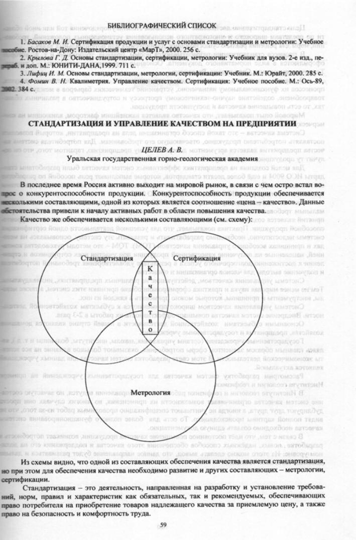Фомин в.н.квалиметрия, управление качеством, сертификация сертификат сответствия гост на профиль п