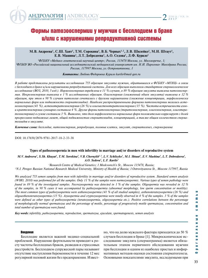 Патологические формы в спермограмме 83