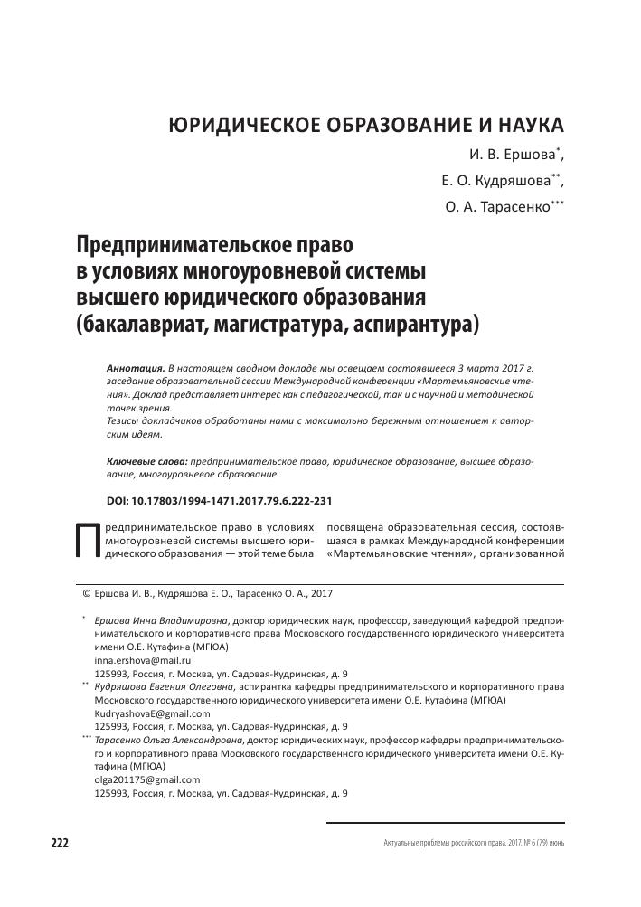 Предпринимательское право темы для докладов 8585
