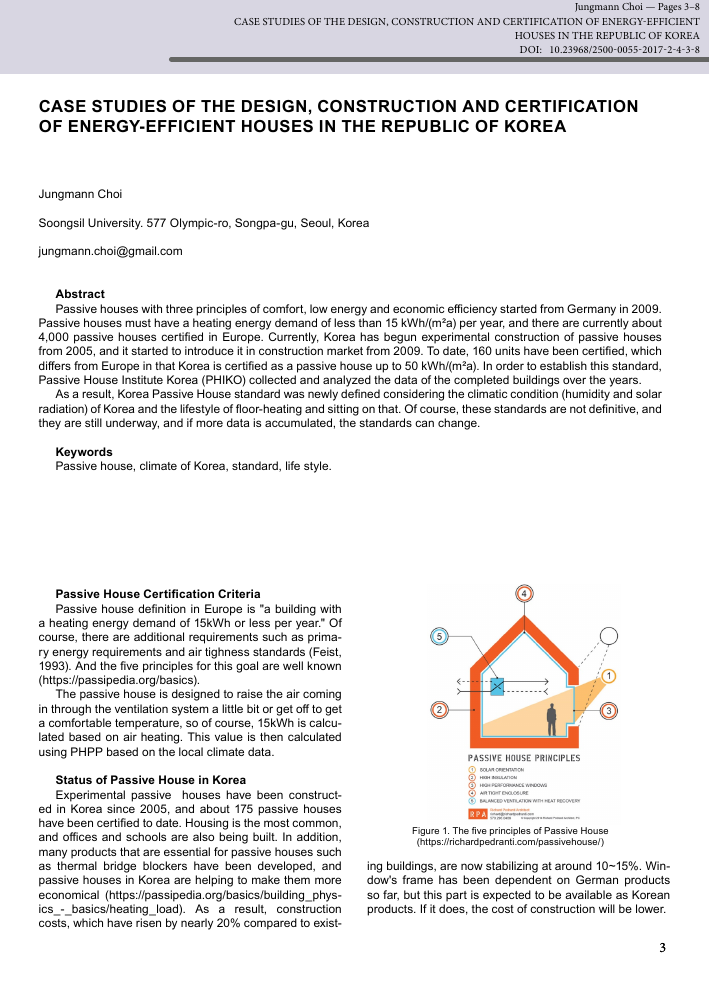 Case Studies Of The Design Construction And Certification Of Energy