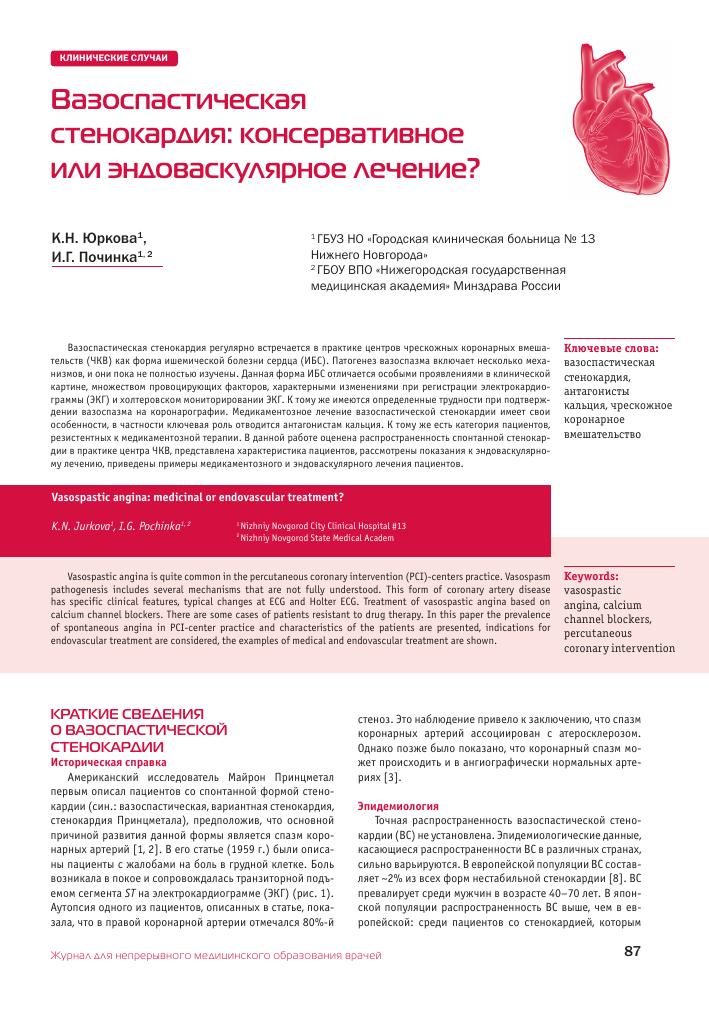 Стенокардия покоя: причины, симптомы и методы лечения