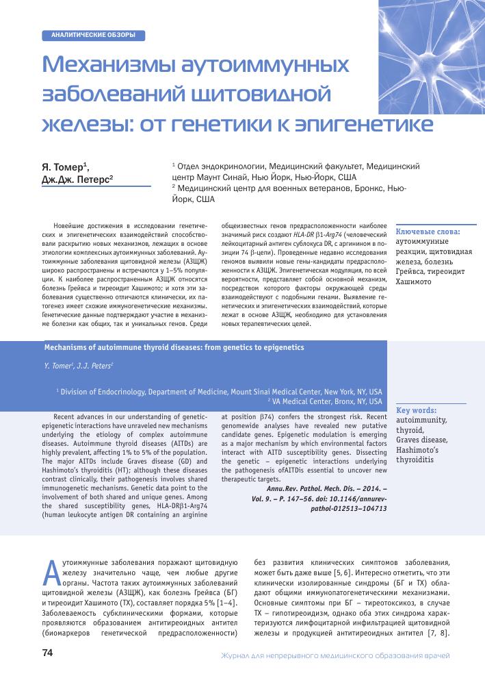 Гей и тиреотоксикоз