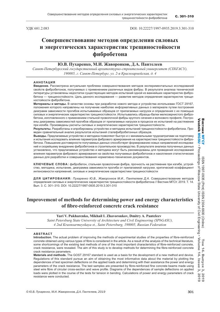 фибробетон нормативные документы